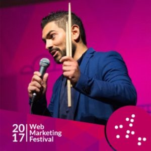 Web marketing festival, startup competition